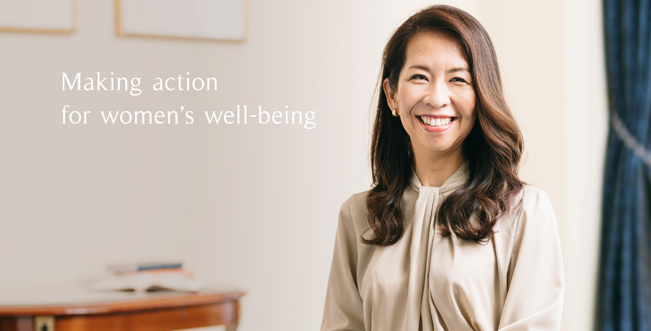 Making action for women's well-being